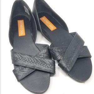 Rocketdog Cross Strap Black Sandals